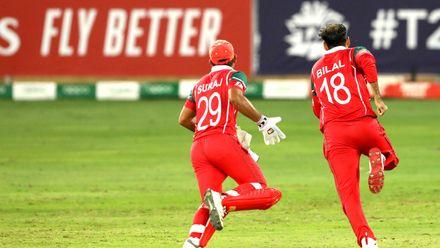Bilal Khan takes 2 wickets in 2 balls