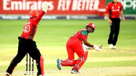 Aamir Kaleem batting