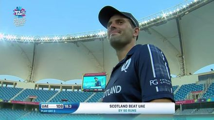 T20WCQ: UAE v SCO – Scotland seal T20 World Cup berth – Highlights