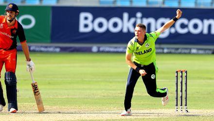 Gareth Delany bowling