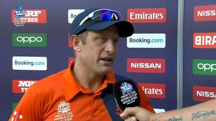 T20WCQ: IRE v NED – Roelof van der Merwe, Player of the Match