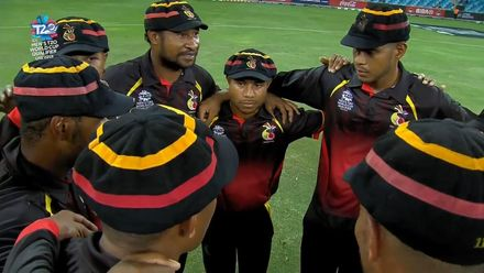 T20WCQ: PNG v NAM – The winning moment