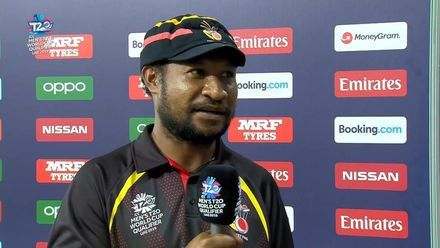 T20WCQ: PNG v NAM – Post-match presentation