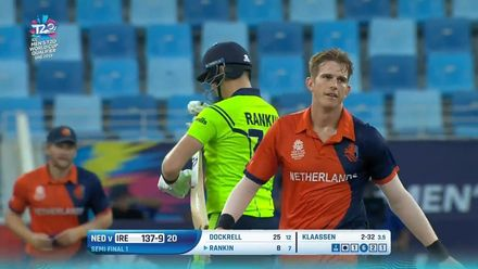 T20WCQ: IRE v NED – The winning moment
