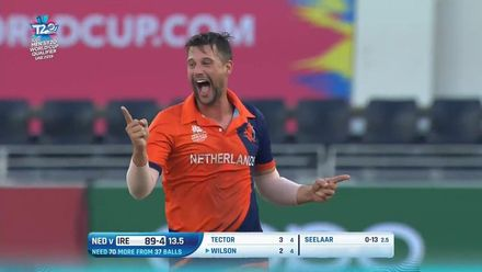 T20WCQ: IRE v NED – The best of Seelaar's 3/17