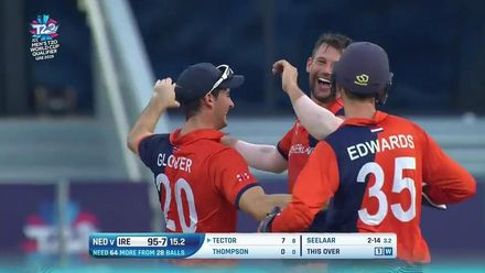 T20WCQ: IRE v NED – All-round Netherlands in the final – Highlights