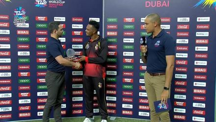 T20WCQ: PNG v NAM – Norman Vanua, Player of the Match