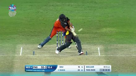 T20WCQ: NED v PNG - Check out PNG's boundaries