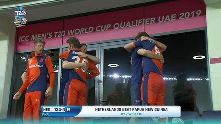 T20WCQ Final – The winning moment