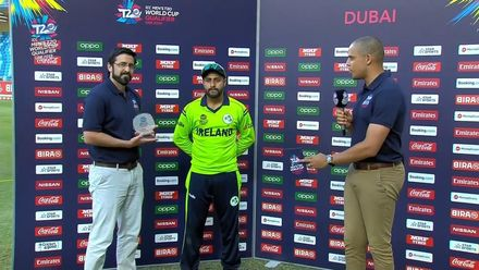 T20WCQ: IRE v NAM – Simi Singh, Player of the Match