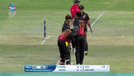 T20WCQ Final – Vala breaks a promising stand