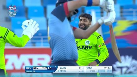 T20WCQ: IRE v NAM – Ireland claim third place – Highlights