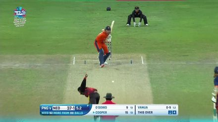 T20WCQ: NED v PNG - Take a look at the boundaries from the Netherlands innings