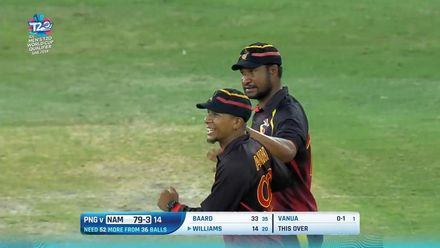 T20WCQ: PNG v NAM – PNG make it to the final – Highlights