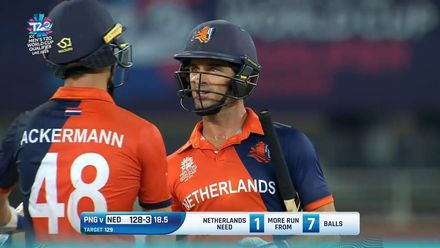 T20WCQ Final: Netherlands lift the trophy – Highlights