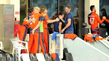 Netherlands Team celebrate