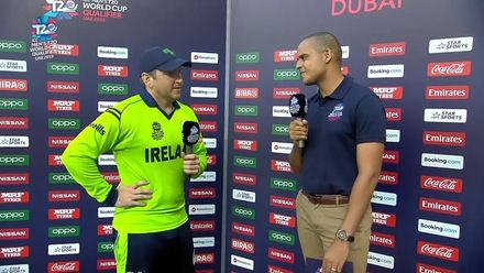 T20WCQ: IRE v NAM – Post-match presentation