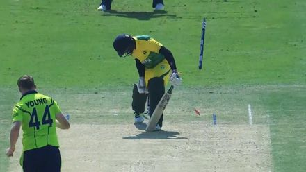 The best of T20WCQ: Bowled 'im!