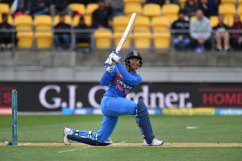 Smriti Mandhana won the Player of the Match award on her ODI return