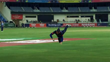 The best of T20WCQ: Sharp takes and superman catches