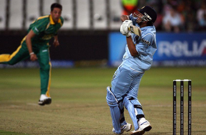 Rohit scored a match-defining 50* in India's 37-run win against South Africa in the Super 8 fixture of the ICC WT20 2007