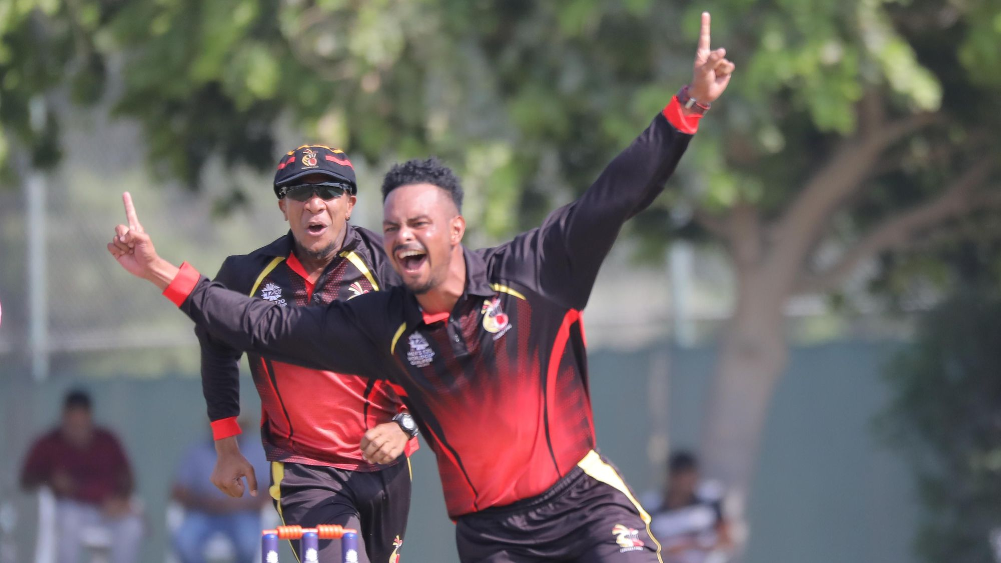 Norman Vanua was fantastic throughout the ICC Men's T20 World Cup Qualifier, but his best performances came against Bermuda when he dismissed Dion Stovell, Kamau Leverock and Deunte Darell in succession to set up an easy win for Papua New Guinea.