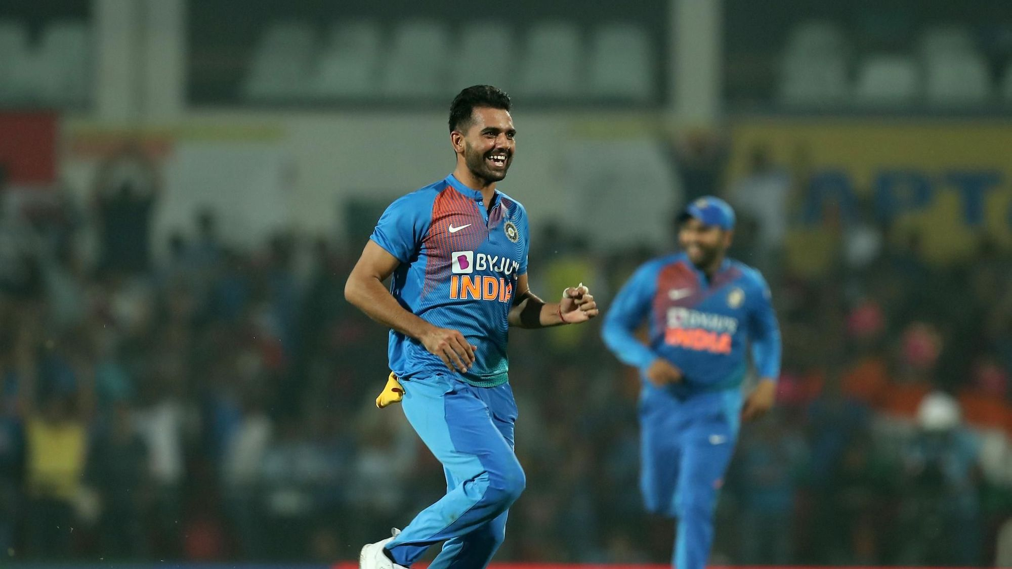 Deepak Chahar had already taken three crucial wickets in the decider against Bangladesh, and he capped things off with a hat-trick to help bowl Bangladesh out for 144 in chase of 175. His figures of 6/7 became the best registered in all men's T20Is.