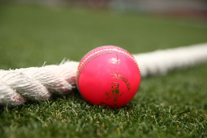 The Kookaburra version of the pink ball was used in the 2016-17 Duleep Trophy
