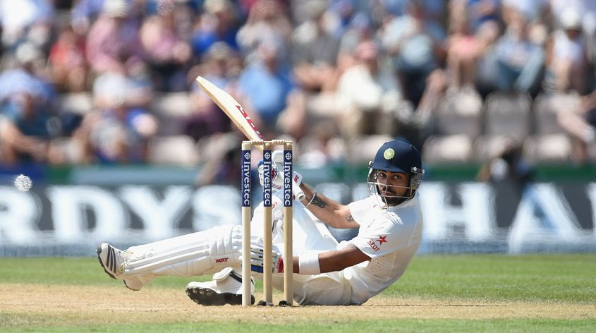 Virat Kohli went through his leanest patch as a Test cricketer during the 2014 tour of England