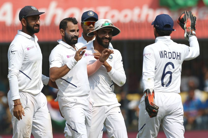 Shami registered figures of 7/58 in the first Test