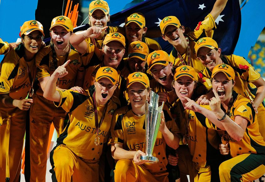 Australia women won their first T20 World Cup in 2010; they have gone on to win three more titles since