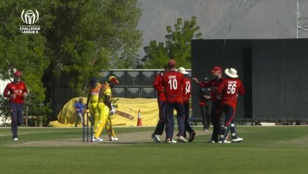 CWC Challenge League B – Oman: Jersey's Julius Sumeraur takes 3 early Uganda wickets