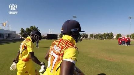 CWC Challenge League B – Oman: Uganda beat Jersey by 25 runs, match highlights