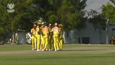 CWC Challenge League B – Oman: Uganda dismiss Jersey's Ben Stevens for 43