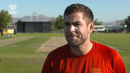 CWC Challenge League B – Oman: Jersey v Uganda – Jersey pre-match interview
