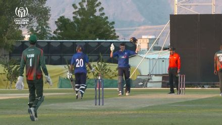 CWC Challenge League B – Oman: Italy v Kenya - Nikolai Smith hits an outstanding century