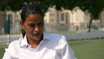 Match referee GS Lakshmi makes history