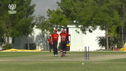 CWC Challenge League B: Jersey v Hong Kong – Oman: Sumeraur bowled for 24 by Waqas Barkat