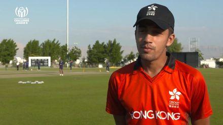 CWC Challenge League B: Jersey v Hong Kong – Oman: Hong Kong pre-match interview