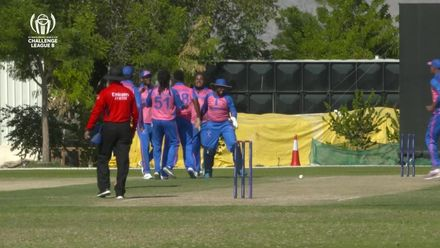 CWC Challenge League B: Uganda v Bermuda – Zeko Burgess strikes with his first ball