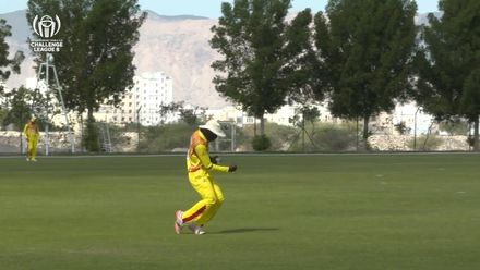 CWC Challenge League B: Uganda v Bermuda – Waiswa takes brilliant catch to dismiss Smith