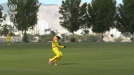 CWC Challenge League B: Uganda v Bermuda – Waiswa takes brilliant catch to dismiss Smith