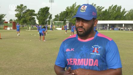 CWC Challenge League B: Bermuda v Kenya – BER pre-match interview