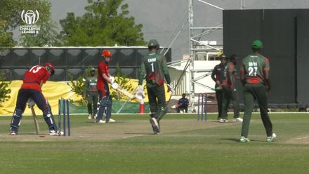 CWC Challenge League B: Kenya v Jersey – Shem Ngoche takes 3/24 with the ball