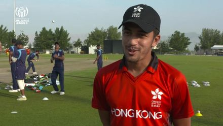 CWC Challenge League B: Hong Kong v Uganda – Hong Kong pre-match interview