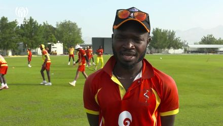 CWC Challenge League B: Hong Kong v Uganda – Uganda pre-match interview