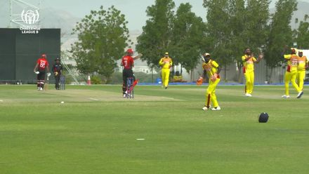 CWC Challenge League B: Hong Kong v Uganda – Bilal Hassun takes 3 for 33