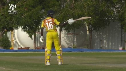 CWC Challenge League B: Hong Kong v Uganda – Uganda captain Arnold Otwani's match-winning 66*