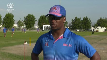 CWC Challenge League B: Bermuda v Italy – Bermuda pre-match interview