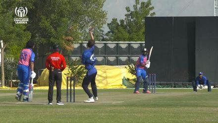CWC Challenge League B: Bermuda v Italy – Kamau Leverock blitz, smashes 40 off 15